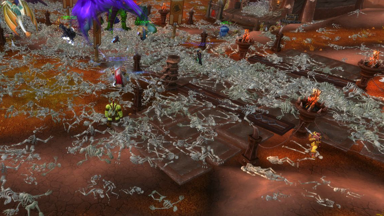 orgrimmar deserted by the pandemic