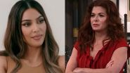 Will And Grace Star Debra Messing Throws Shade After Kim Kardashian Gets Picked To Host SNL
