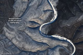 Swirling hills in northern Russia have scientists perplexed.