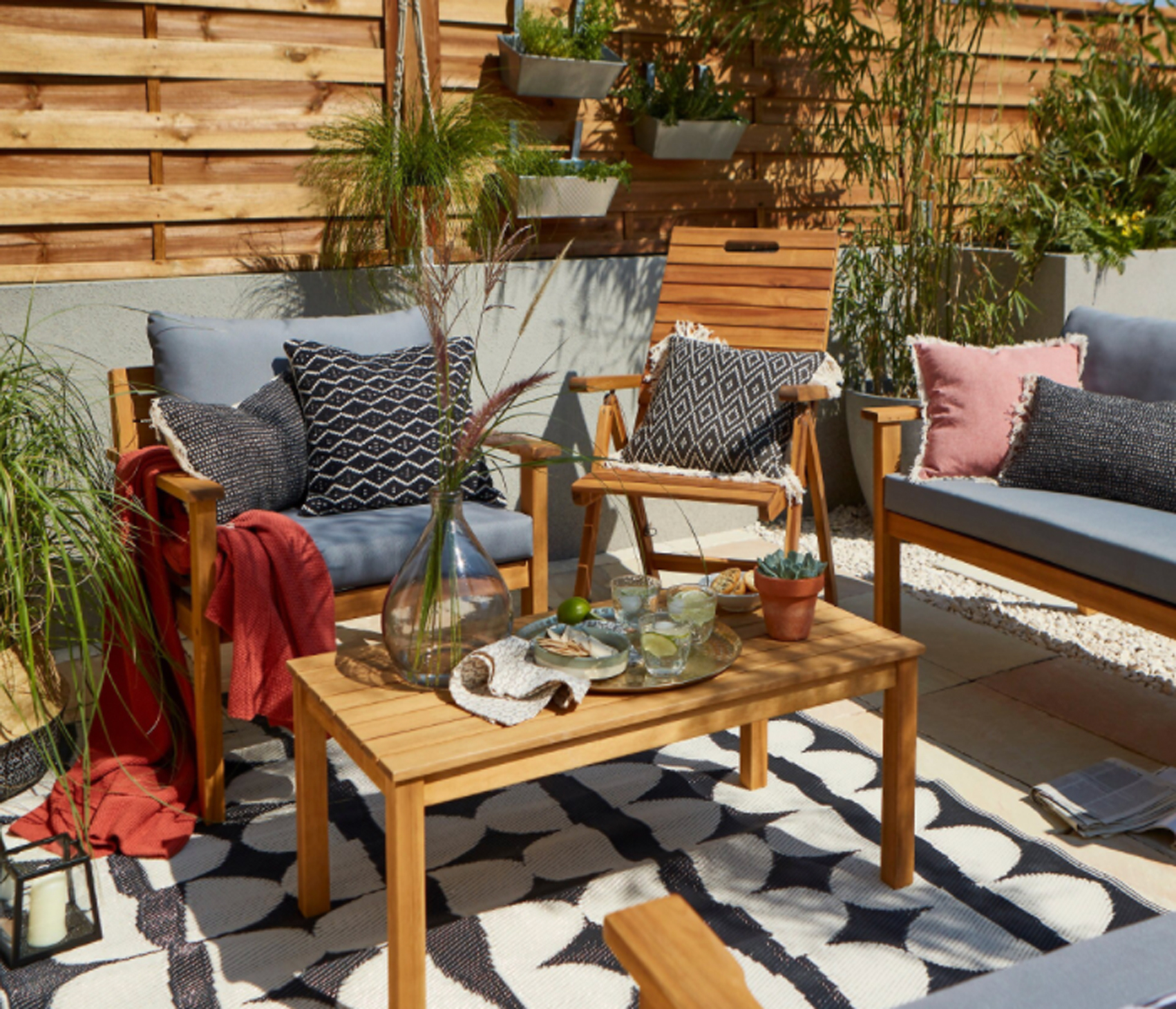 B Q Garden Furniture Has 20 Off Relax Outside In Style For Less Real Homes