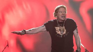 Axl Rose onstage