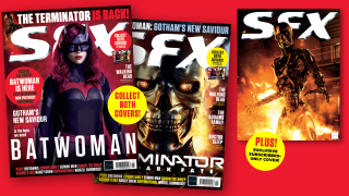 The different covers of SFX issue 319.