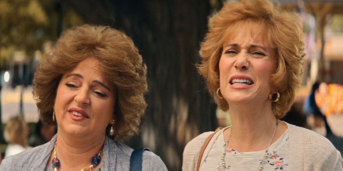 Annie Mumolo and Kristen Wiig in Barb and Star Go to Vista Del Mar