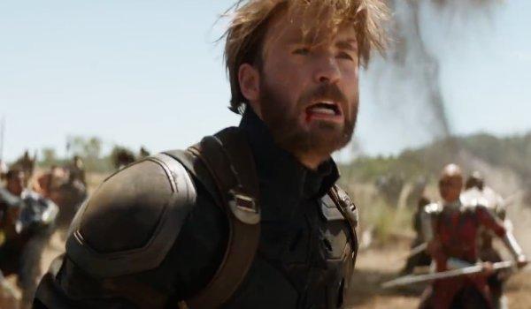 Captain America Chris Evans Infinity War Steve Rogers