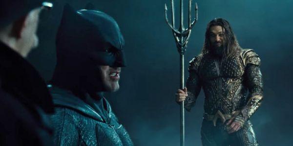 Batman and Aquaman in Justice League