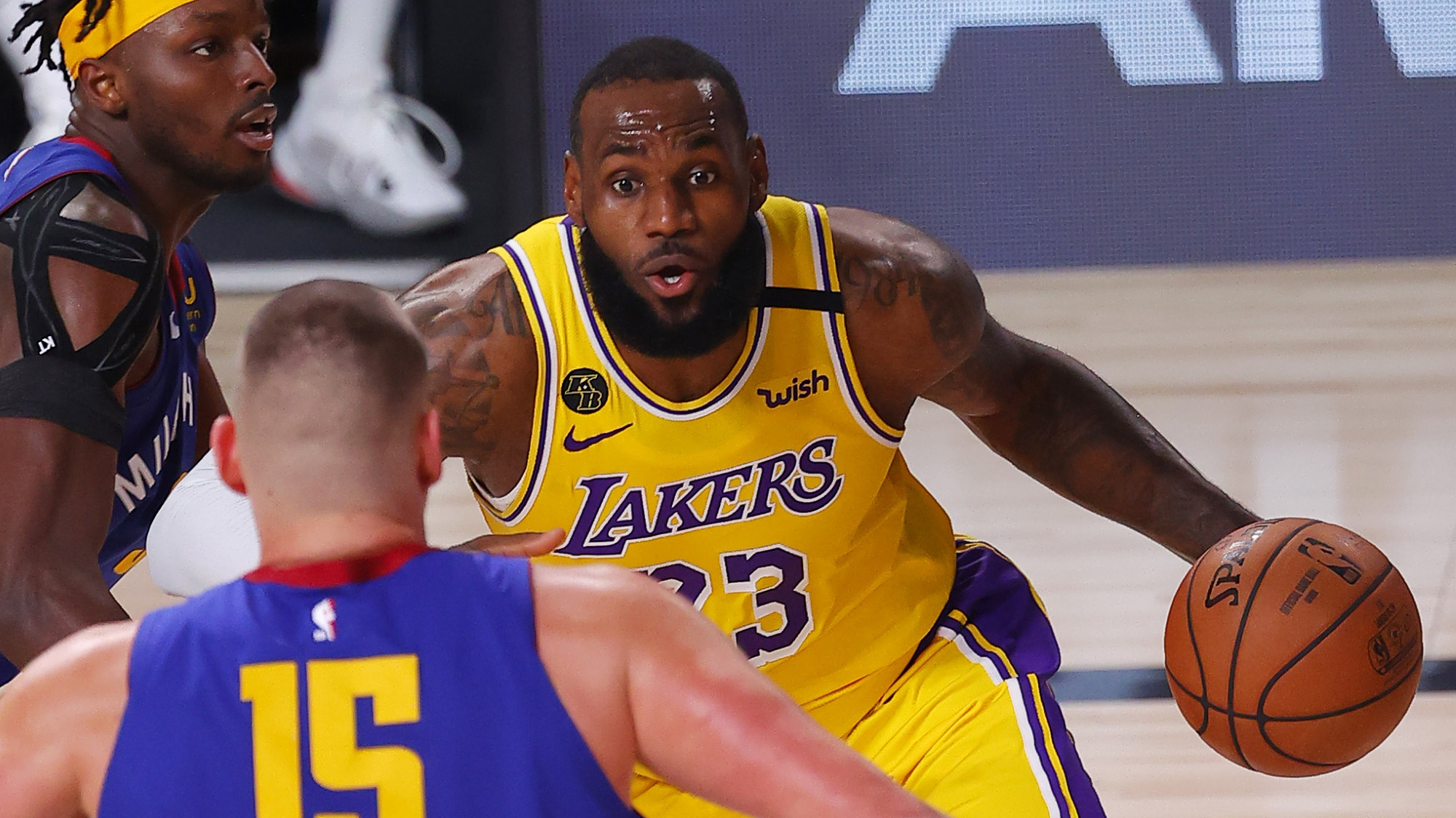 Lakers vs Nuggets live stream: how to watch 2020 NBA playoffs game 2 from anywhere thumbnail
