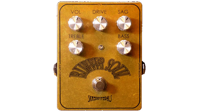Skreddy seeks to give your tone some Rubber Soul with new overdrive pedal