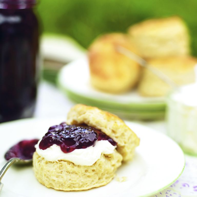 photo of how to make scones step-by-step guide