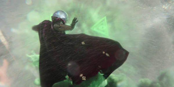 Mysterio in battle far from home movie