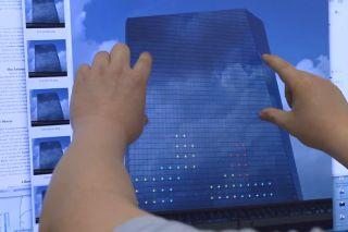 Pong video screenshot