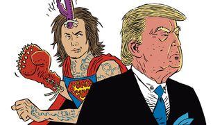 Ben Bruce Donald Trump