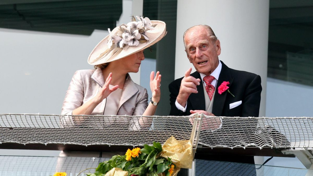 The sweet way Prince Philip and Sophie Wessex have a special connection
