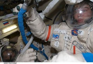 Astronauts to Install Docking Target on Space Station
