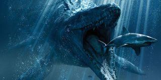 Sea creature in Jurassic World