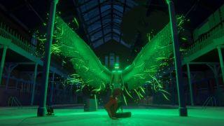 Last Stop alien with wings