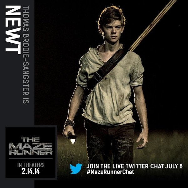 the maze runner movie character photos reveal newt minho