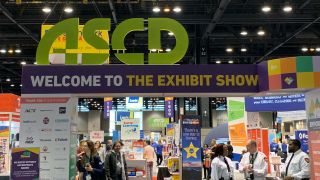 Entrance to ASCD exhibit hall