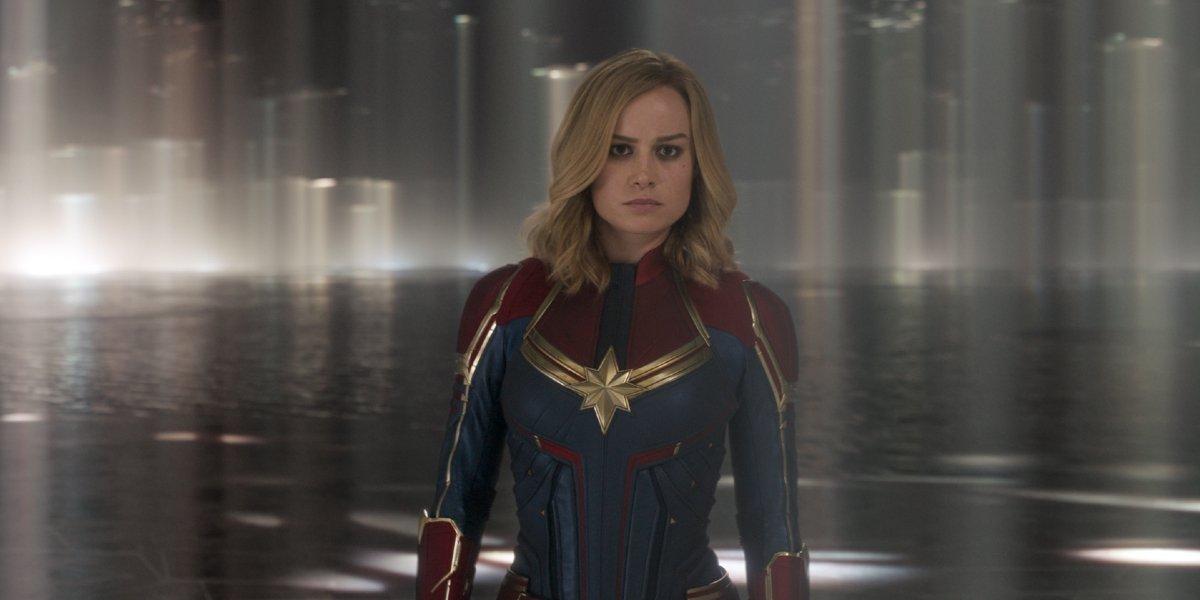 Brie Larson in Captain America