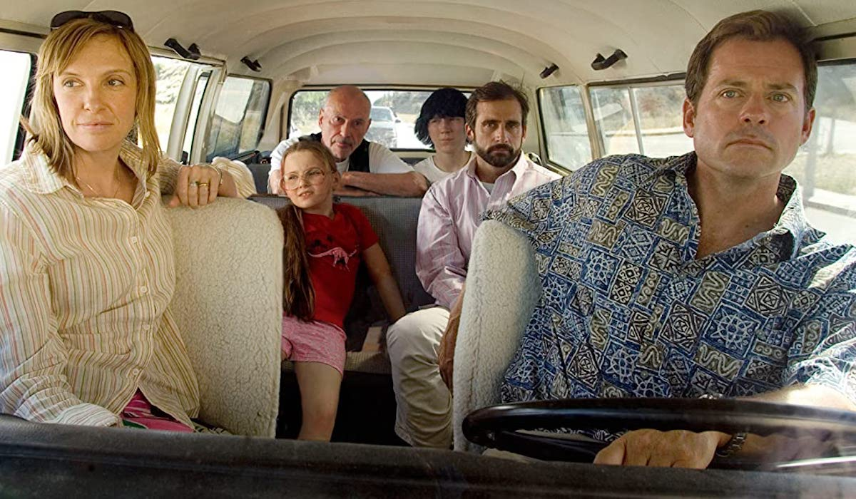 Toni Collette, Alan Arkin, Abigail Breslin, Paul Dano, Steve Carell, Greg Kinear in Little Miss Sunshine