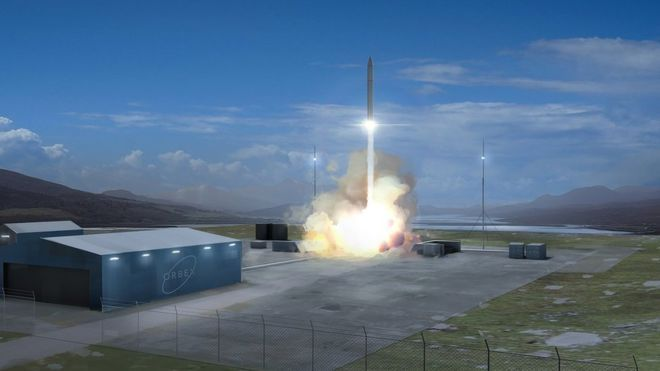 Scottish Spaceport to Begin Construction Soon