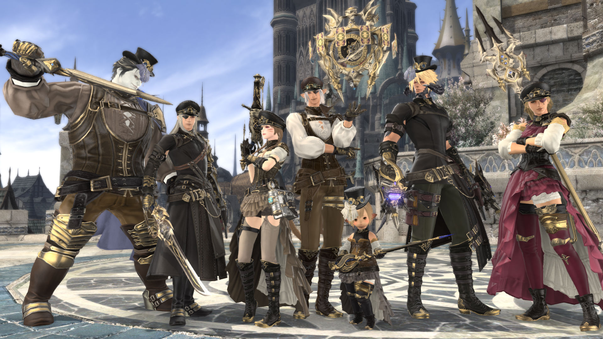 Ffxiv Classes The Best Final Fantasy Xiv Jobs To Choose Pc Gamer