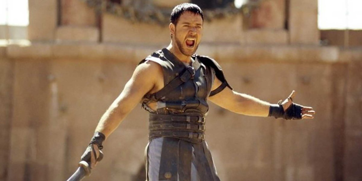 I Totally Support Russell Crowe Introducing Himself By His Gladiator Name In Interviews