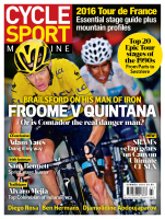 Cycle Sport magazine cover