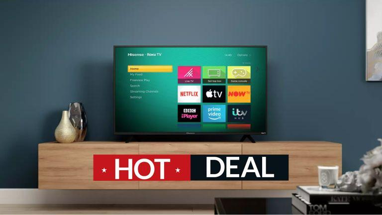 Hisense Roku TV deals Argos