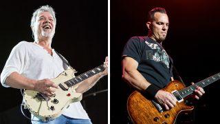 Eddie Van Halen and Mark Tremonti