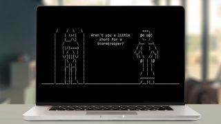 how to watch star wars in ASCII