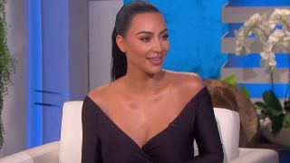 Kim Kardashian on Ellen