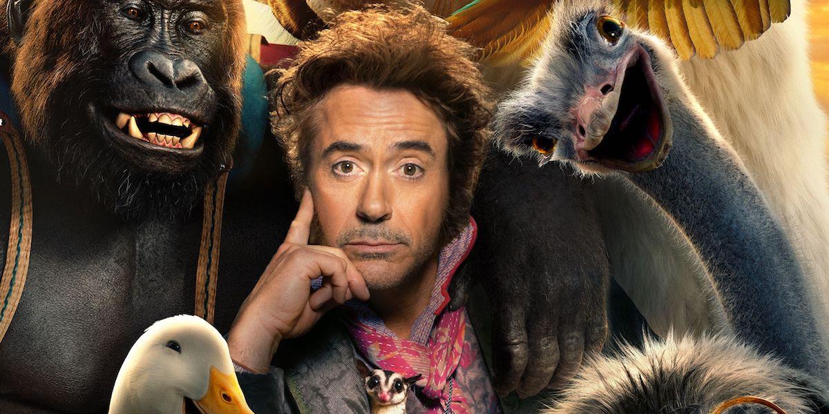 Robert Downey Jr in Dolittle movie poster