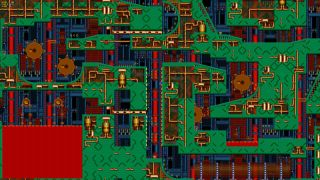 Sonic 2's Metropolis zone zoomed way, way out.