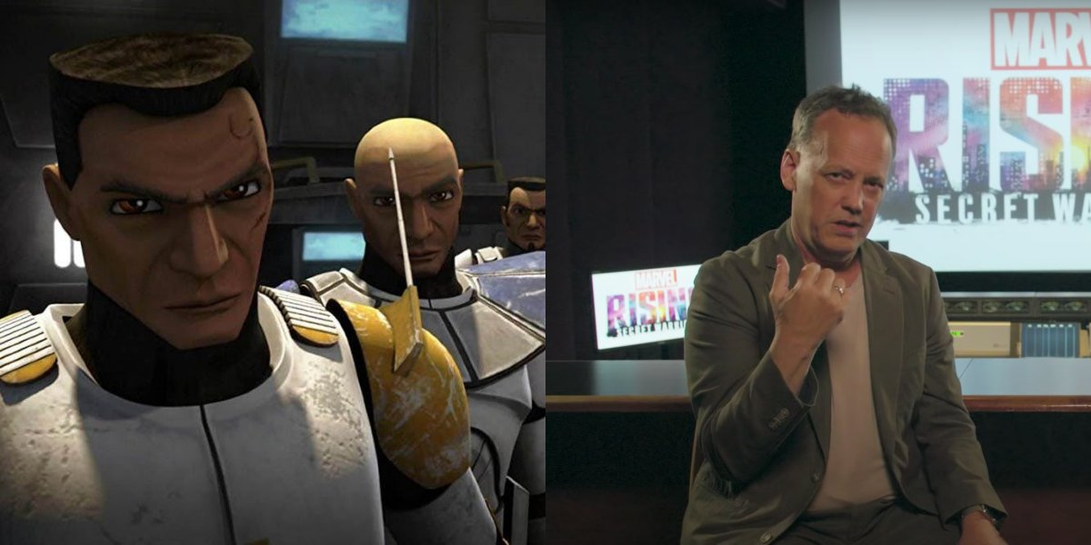 Clone Troopers on Star Wars: The Clone Wars: Dee Bradley Baker in a Marvel Rising interview