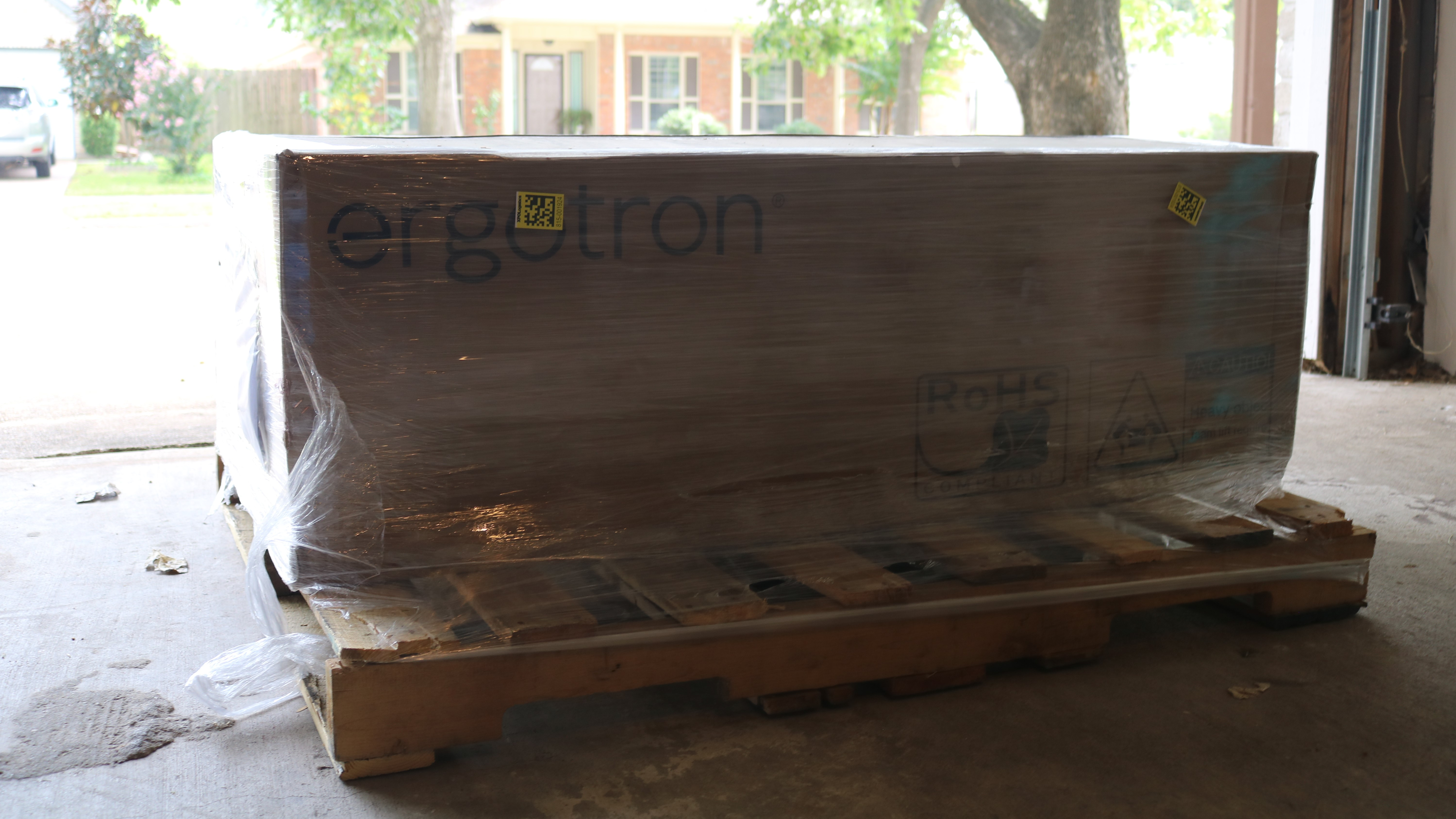 Box with Pallet