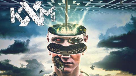 Cover art for KXM - Scatterbrain album