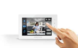 Crestron Releases TSW-550 5-inch Tablet-Styled Touch Screen
