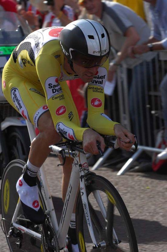 David Millar Tour de France 2007 prologue