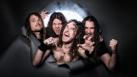 Airbourne band photograph