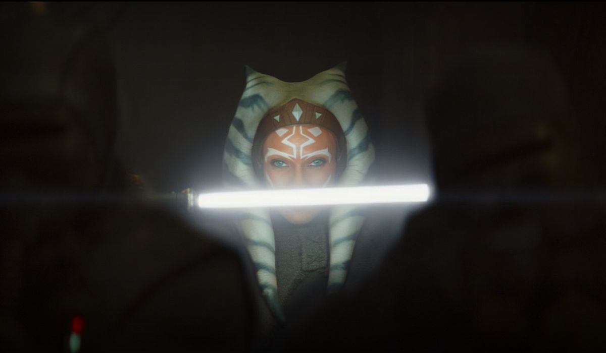 Rosario Dawson looking badass as Ahsoka Tano
