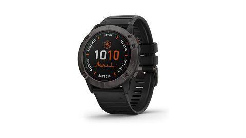 Image shows the Garmin Fenix 6X Pro Solar watch