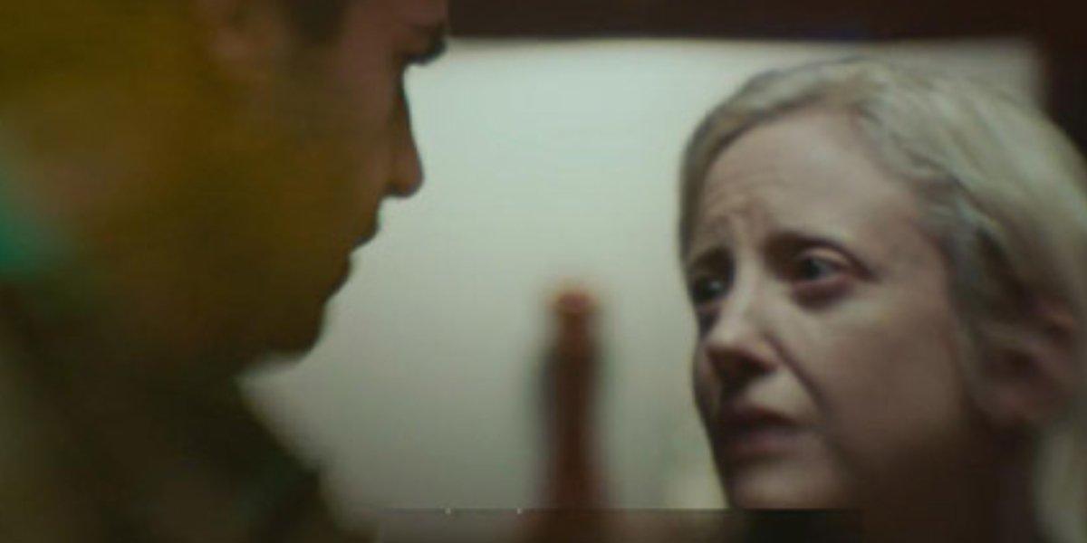 Christopher Abbott and Andrea Riseborough in Possessor