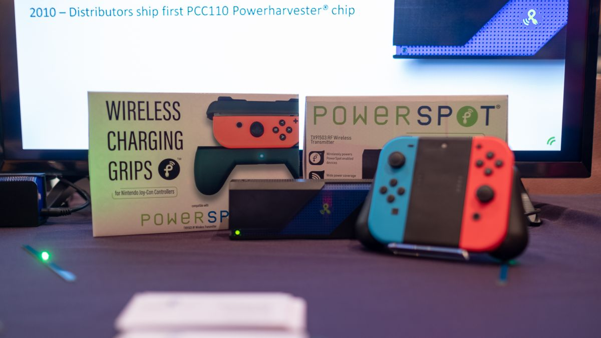Powercast's over-the-air charging Nintendo Switch Joy-Con grips tease truly wireless power delivery