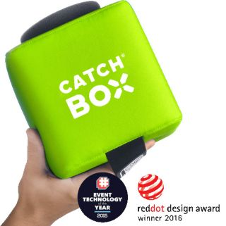 Catchbox Plus Throwable Microphone Introduced