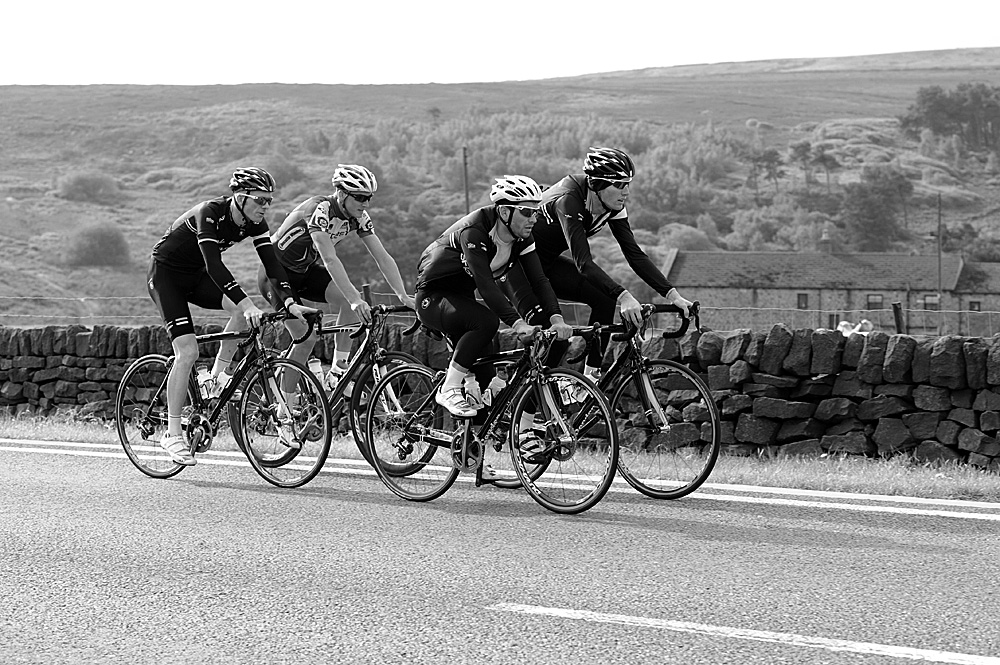 Manchester Road, Rapha Condor Sharp training in Peak District, August 2011