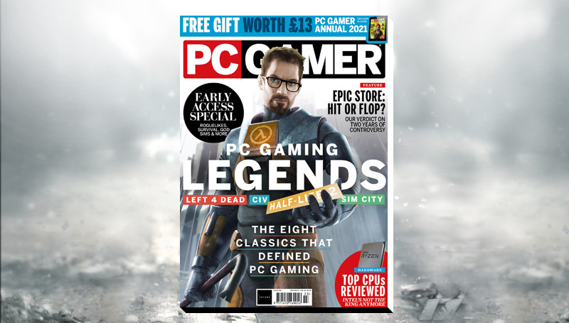 PC Gamer UK March issue: PC Gaming Legends