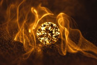 "If diamonds can burn, are they really ""forever""?"