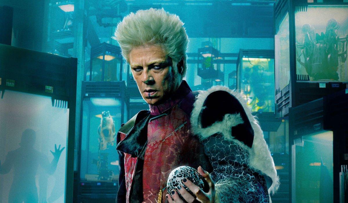 Benicio del Toro's Collector in Guardians of the Galaxy