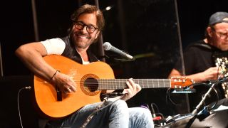Jazz musician Al Di Meola performs onstage during the 'Past, Present and Future' tour at The Canyon on September 20, 2019 in Agoura Hills, California