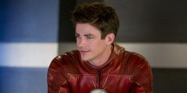 The Flash Star Grant Gustin Triggers Plane Smoke Detectors By Vaping In Bathroom